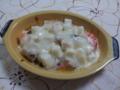 魚介のチーズグラタン