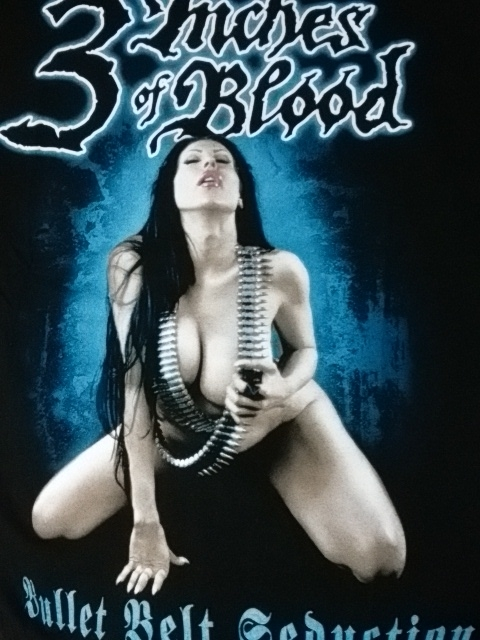 3 inches of blood のTシャツ