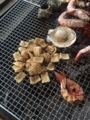 [バーベキュー]バーベキュー味のあのお菓子を焼いたwwww