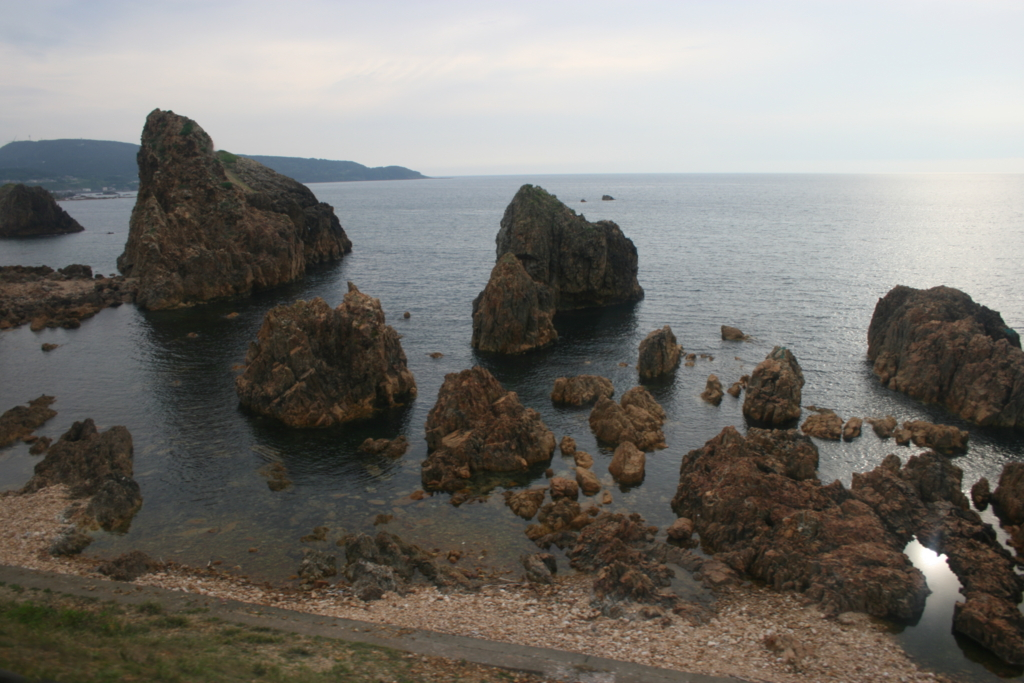 五能線から見た日本海