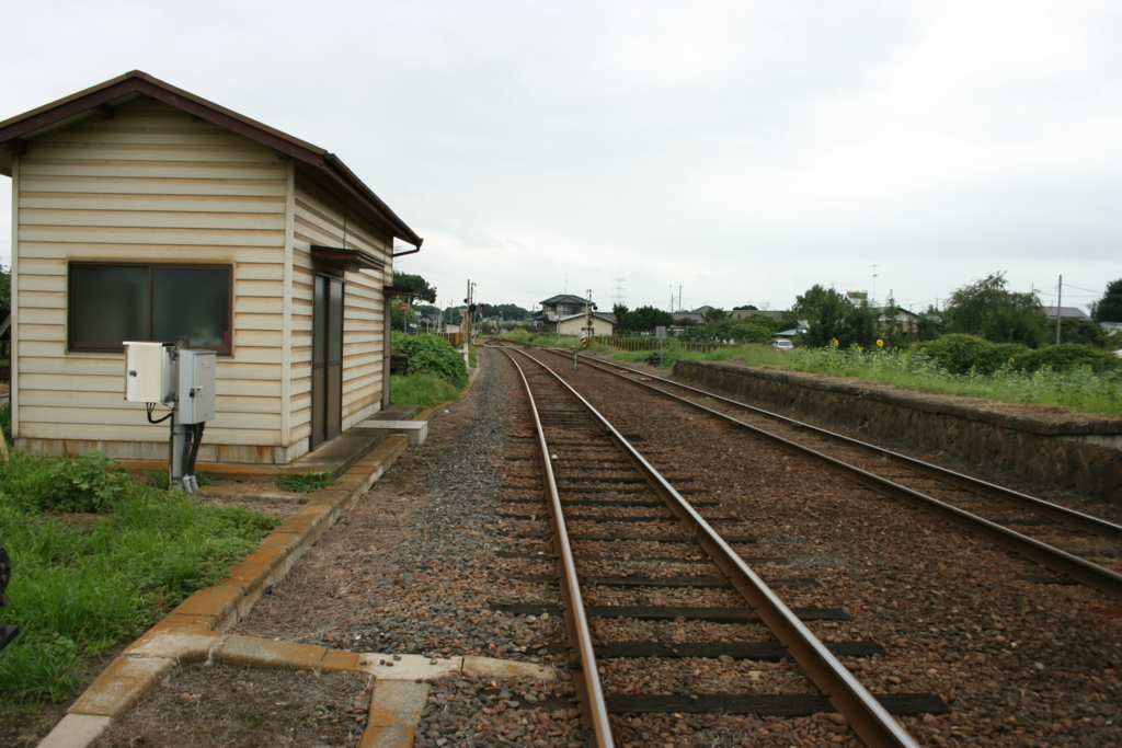 騰波ノ江駅からの常総線