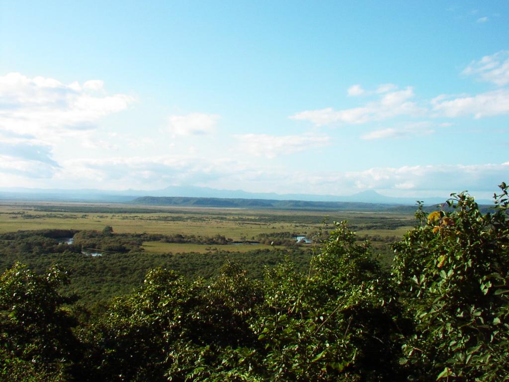 細岡展望台からの釧路湿原の眺望