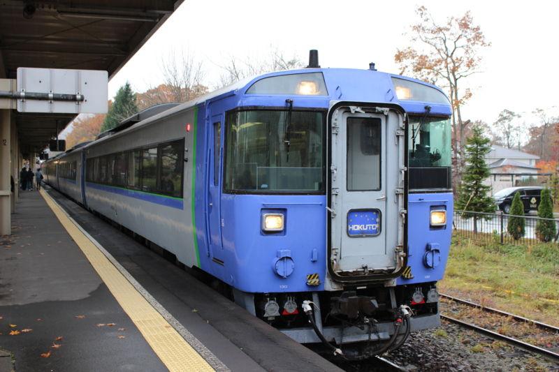 JR北海道の気動車特急キハ183系