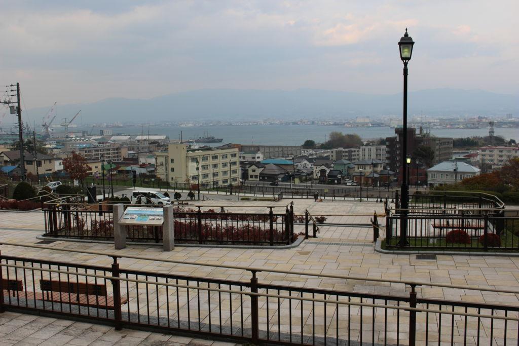 元町公園からの眺め