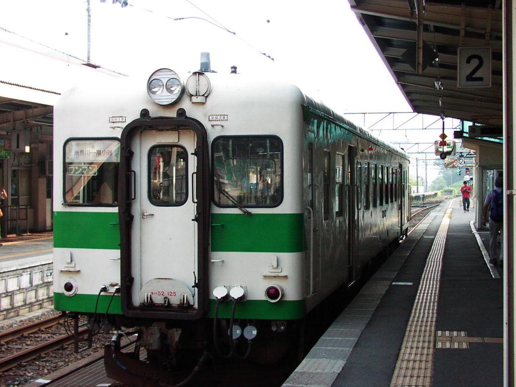 大糸線時代のキハ52