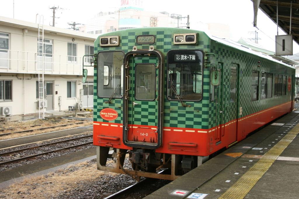 真岡鐵道 モオカ14形
