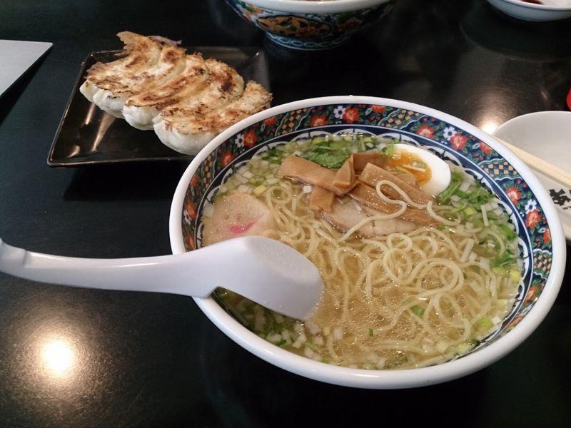 あじさいの味彩塩拉麺