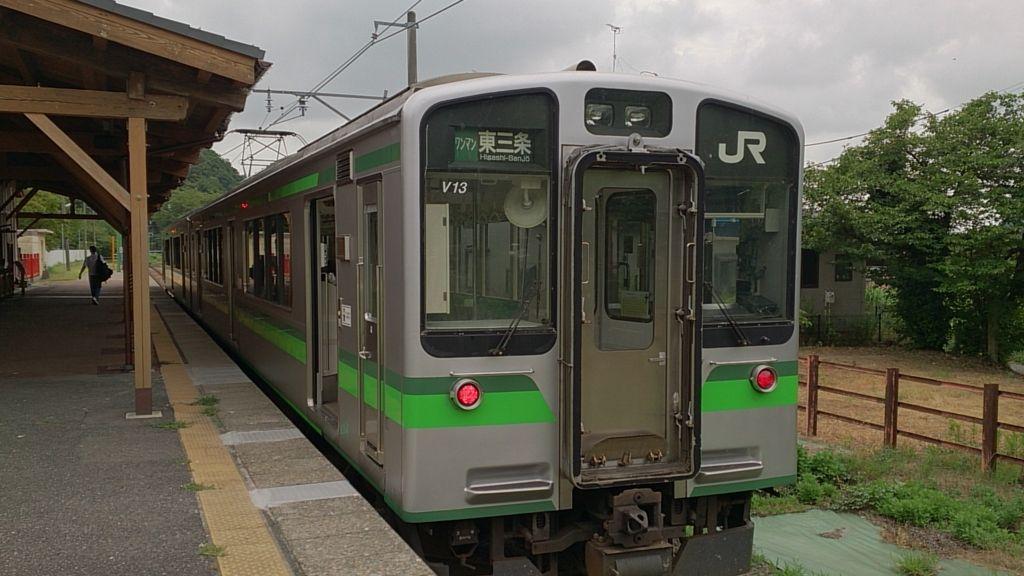 弥彦線の普通列車