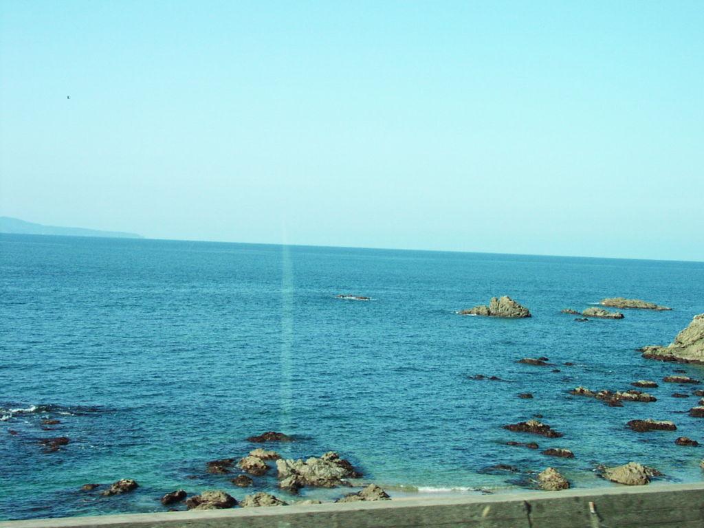 笹川流れ付近の車窓