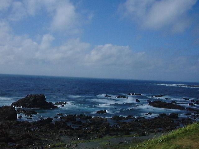 夏の入道崎