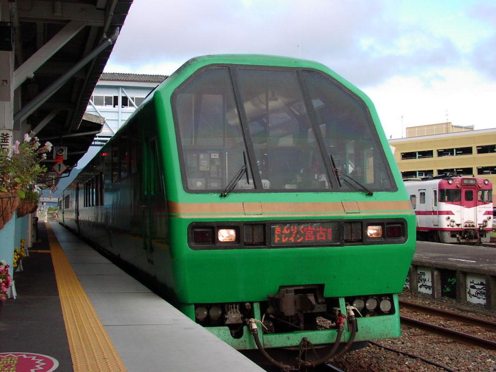 山田線の「さんりくトレイン宮古」