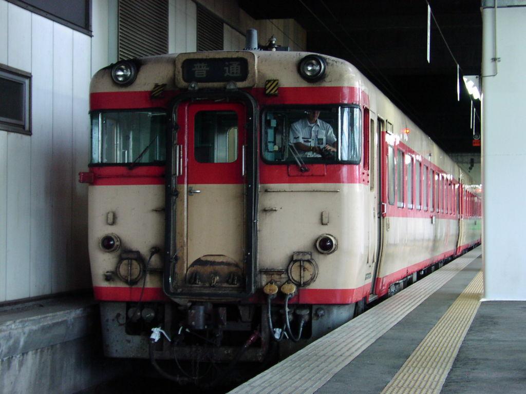花輪線のキハ58系
