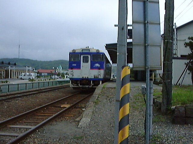 様似駅と日高本線