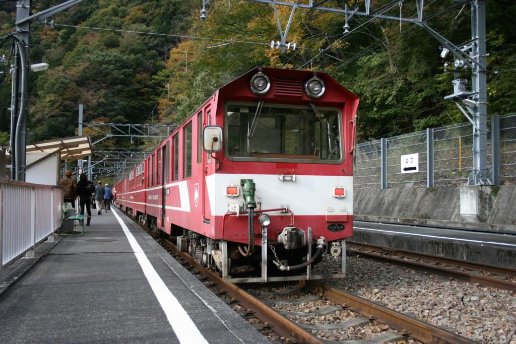 大井川鉄道井川線