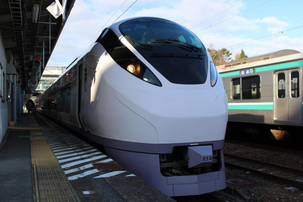 常磐線特急 E657系電車