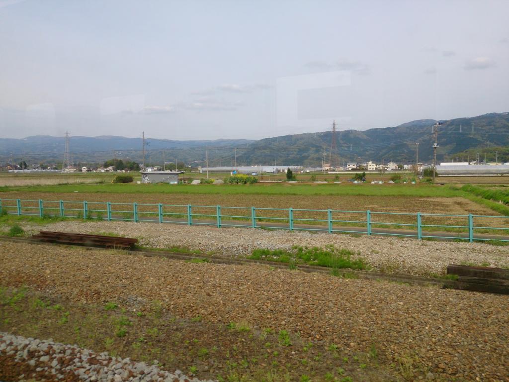 駿豆線の車窓