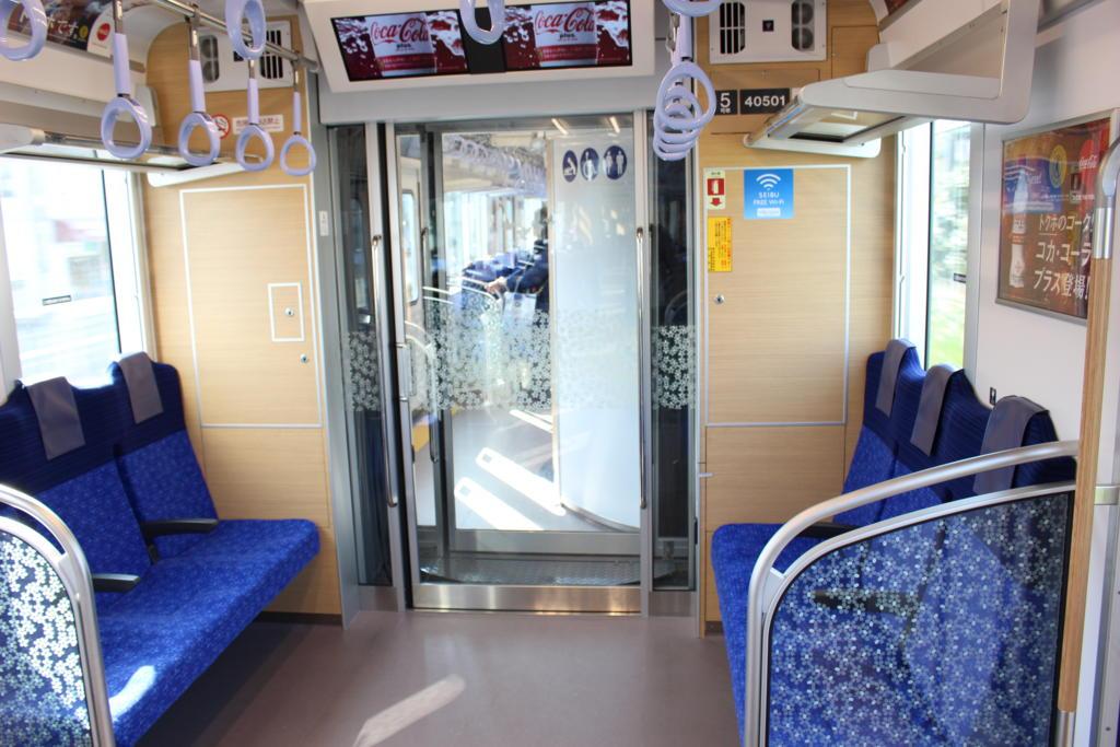 S-TRAINの車端部