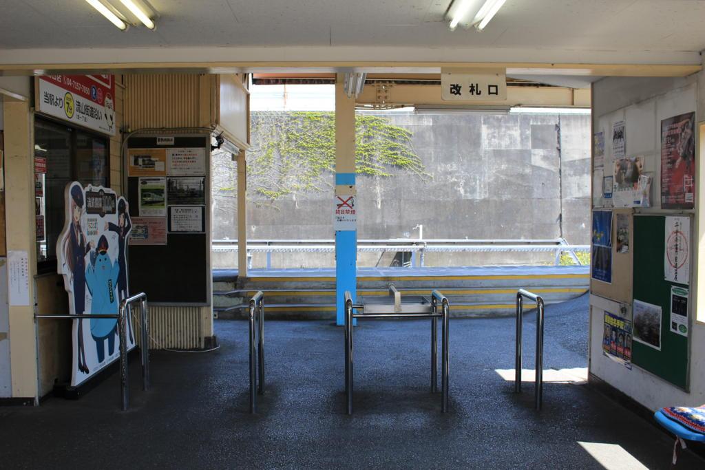 流山駅の駅舎内