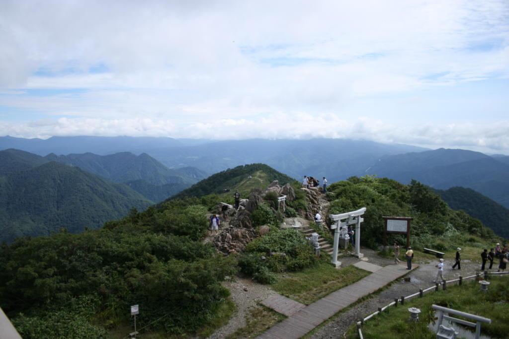 天神峠からの眺め