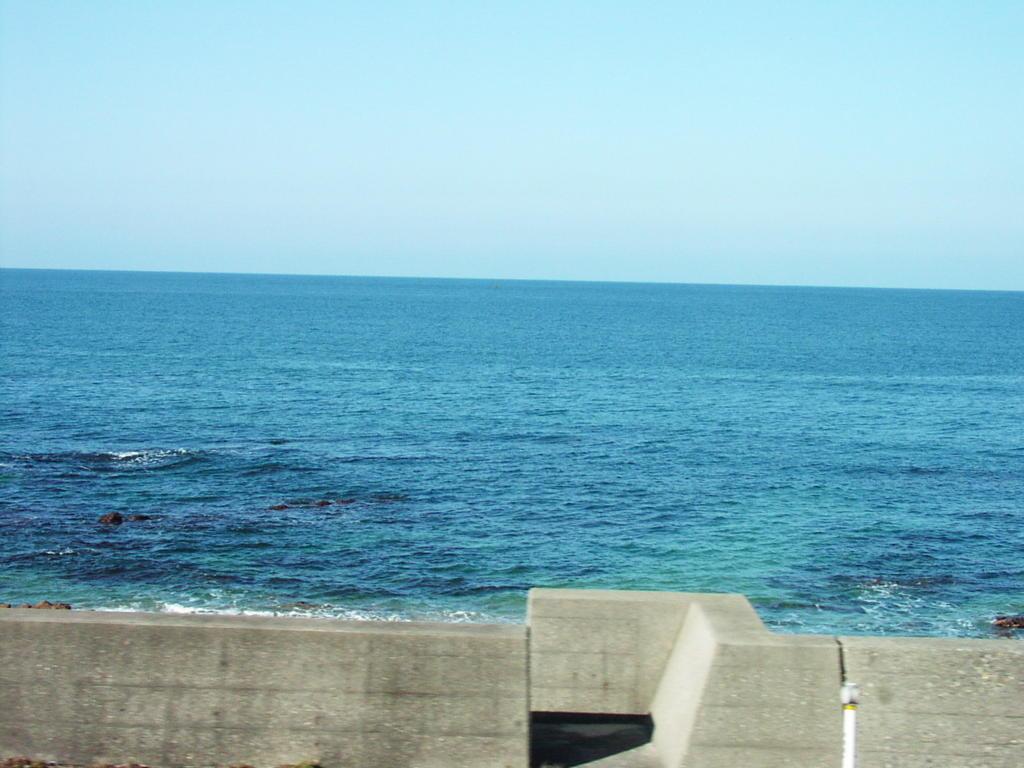きらきらうえつから眺める日本海