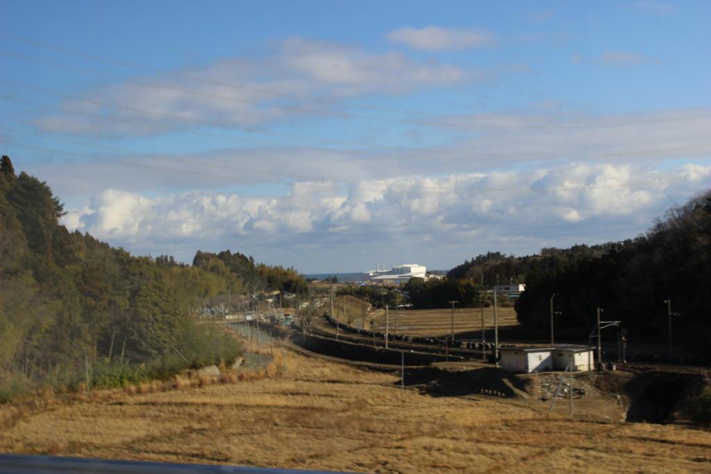 竜田駅北側での復旧作業の様子