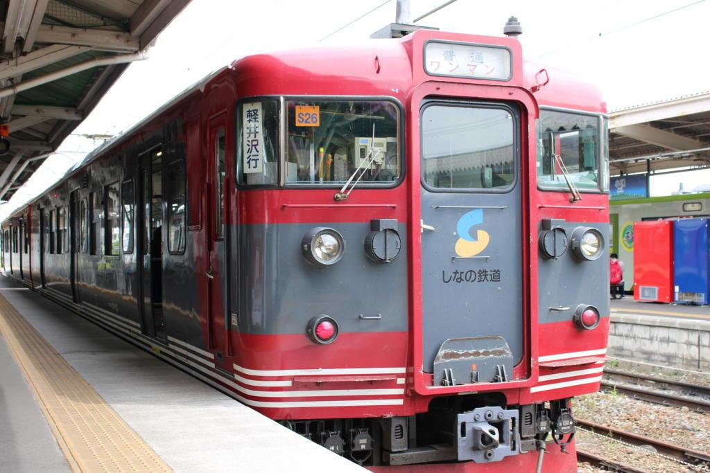 しなの鉄道115系電車