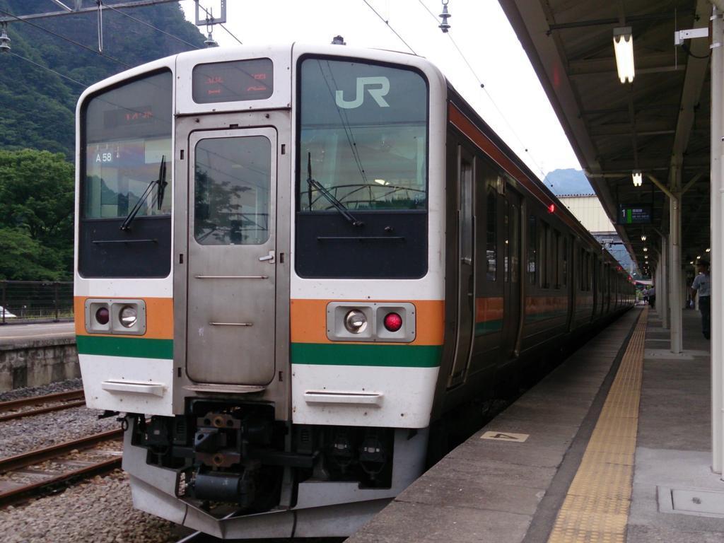 信越本線の211系電車