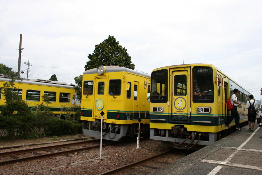いすみ鉄道の気動車