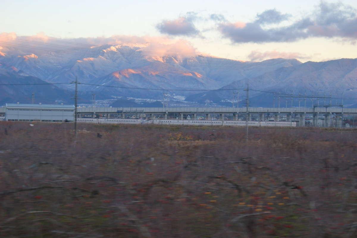 長野新幹線車両センターで廃車を待つE7系新幹線(泣)