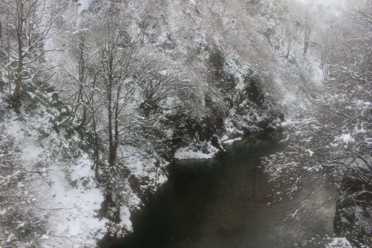 破間川の渓谷美