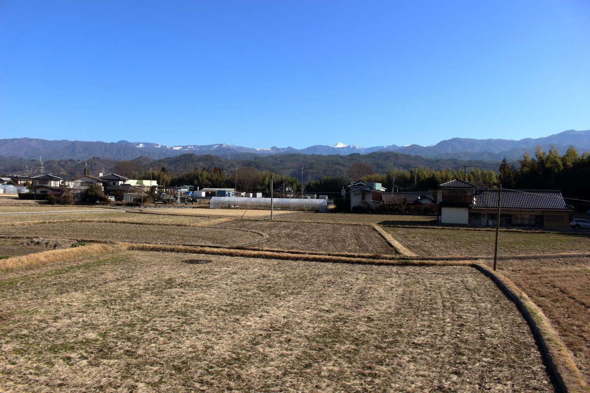 飯田線の車窓から眺める伊那谷の風景