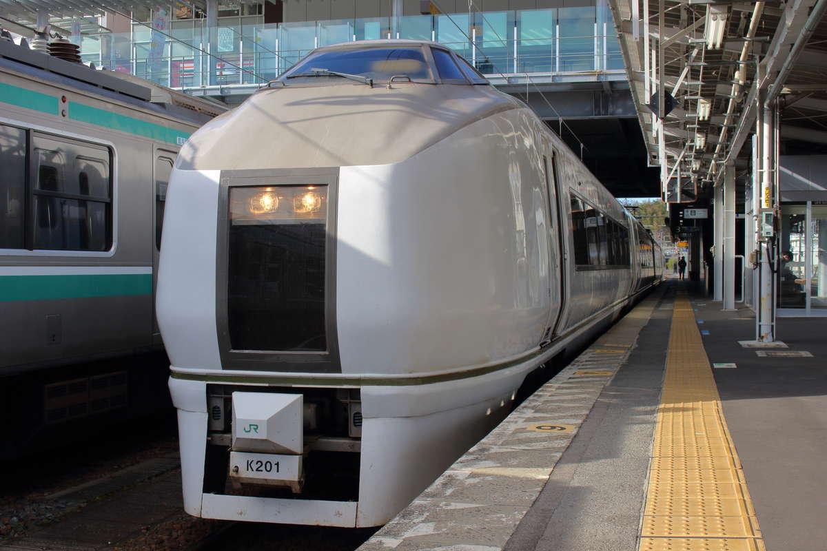 いわき~富岡のE651系普通列車も見納め?