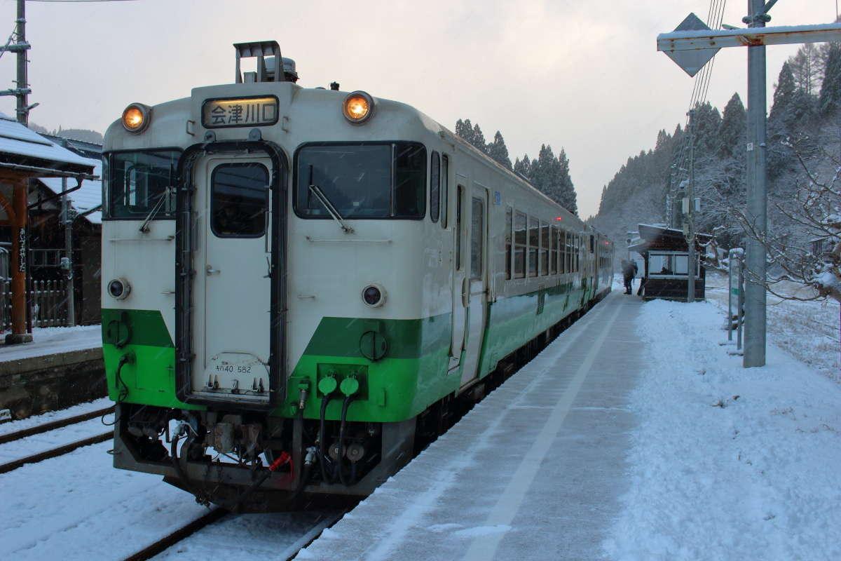 只見線のキハ40系、2020年3月のダイヤ改正で引退!
