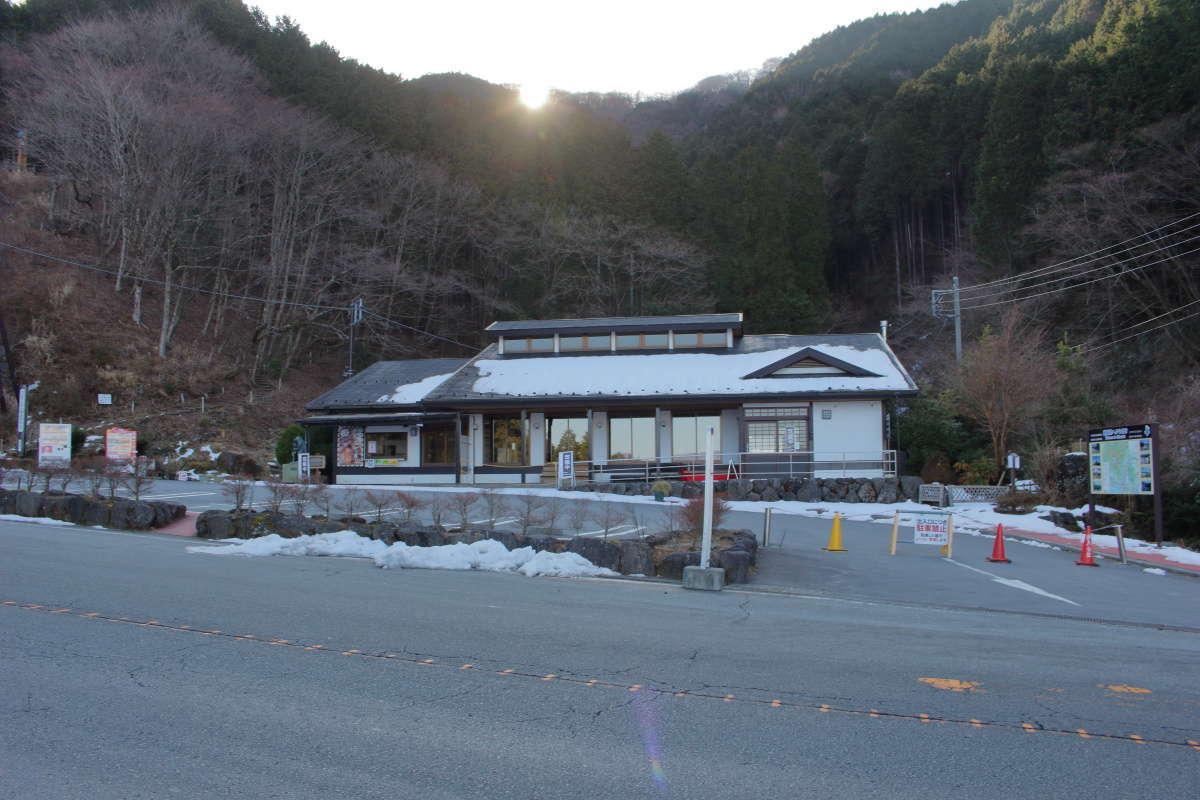 乙女峠バス停前の「ふじみ茶屋」