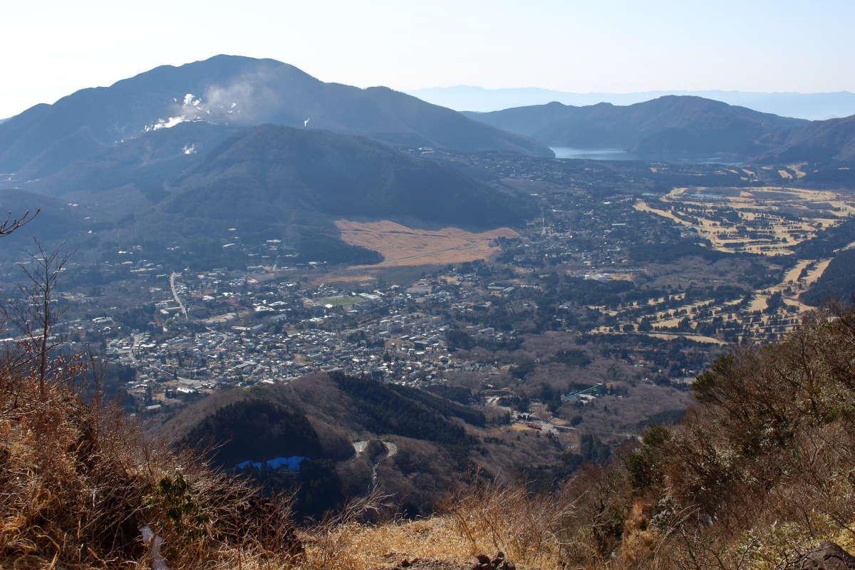 仙石原、芦ノ湖、大涌谷など箱根の風景を一望!