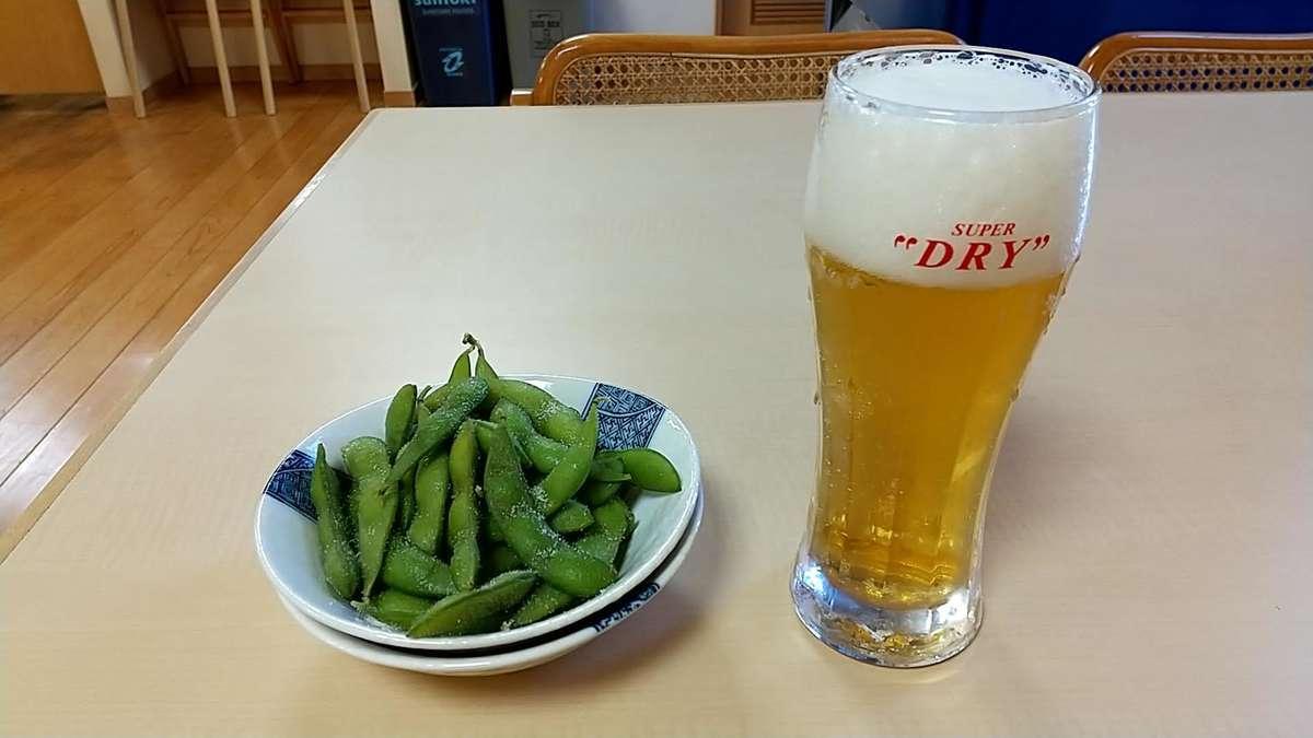 あしがら温泉で汗を流しビールと蕎麦で乾杯!
