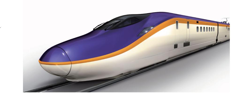 山形新幹線「E8系」の外観