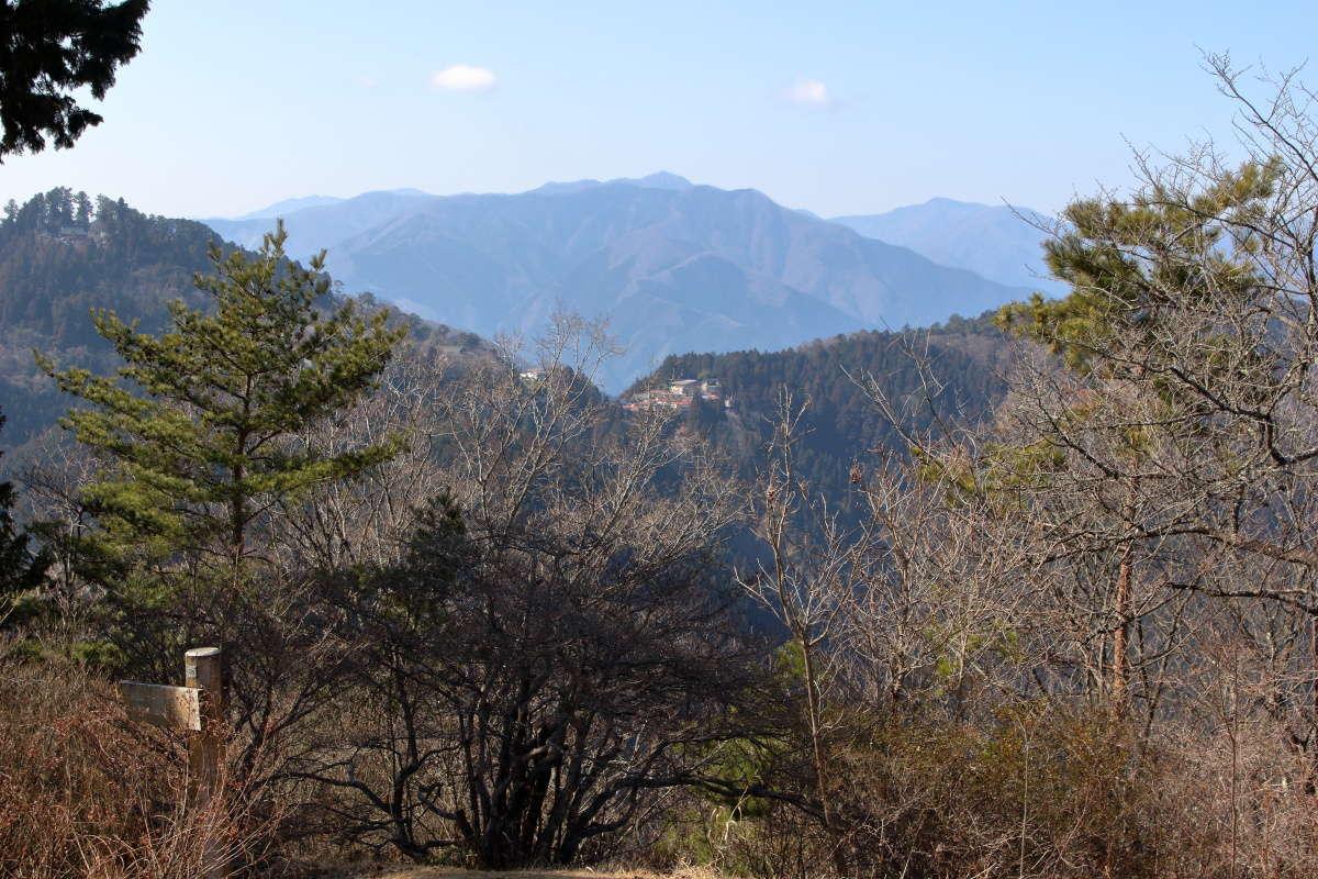 西側には御岳山の集落や武蔵御嶽神社も!
