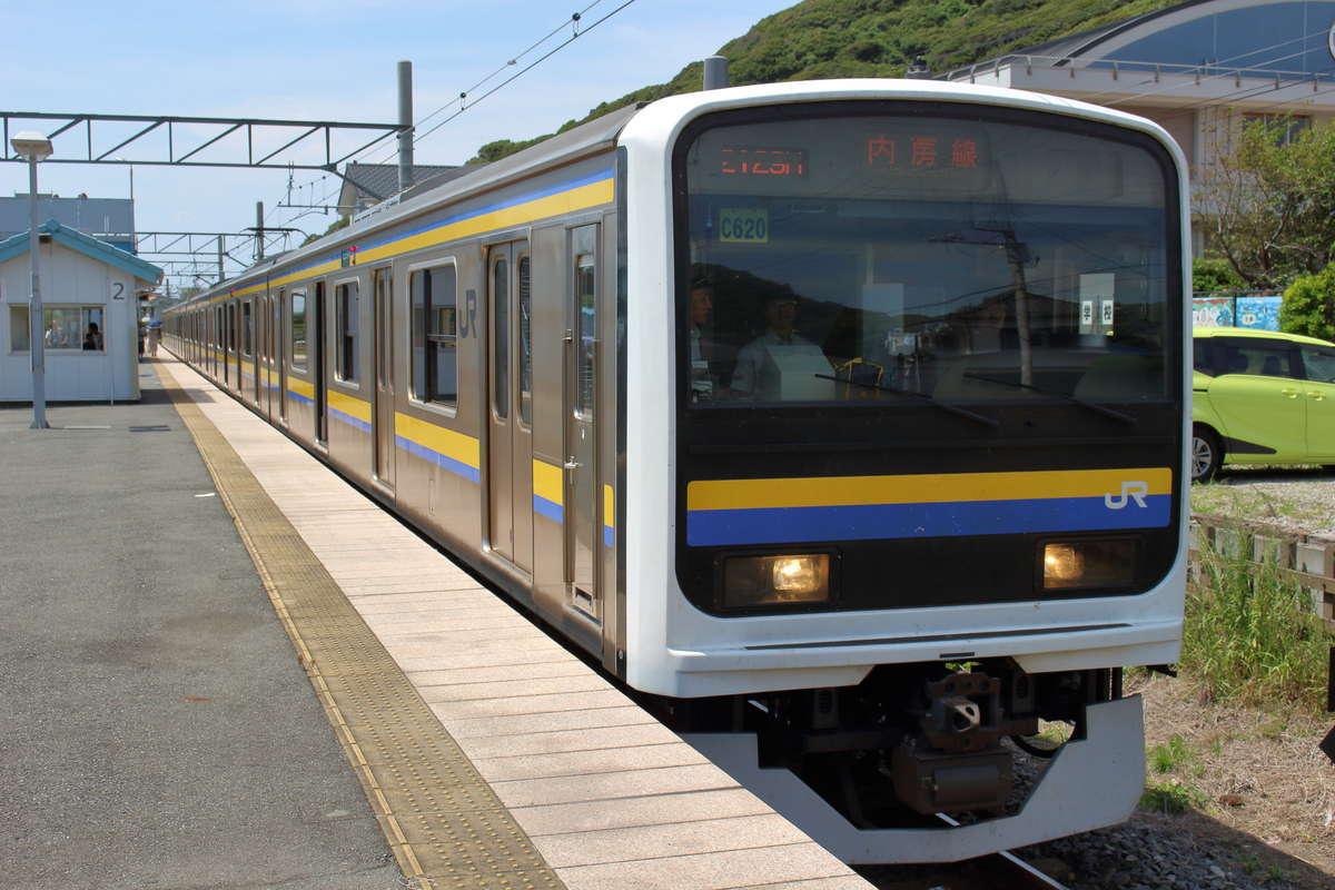 内房線・外房線を走る209系電車