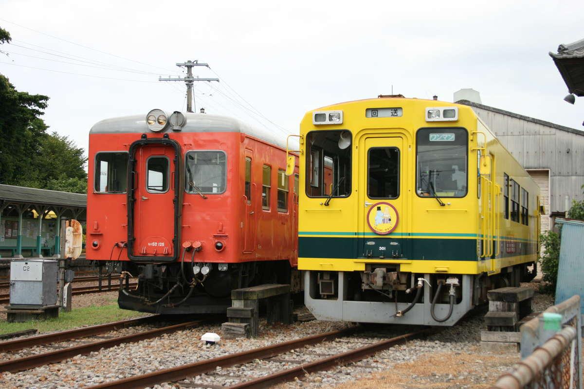 いすみ鉄道の気動車たち