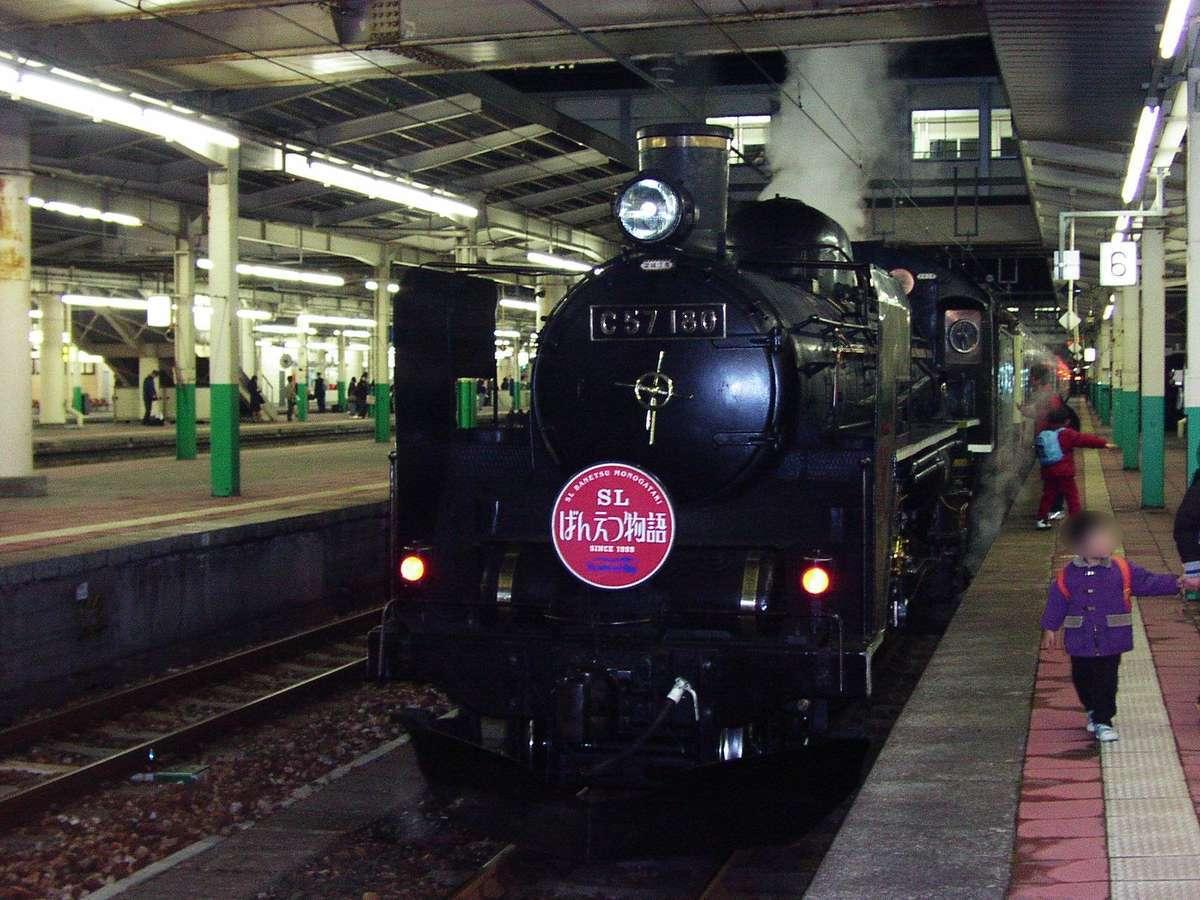 新潟駅発着だった頃の「SLばんえつ物語」(2002年11月@新潟駅)