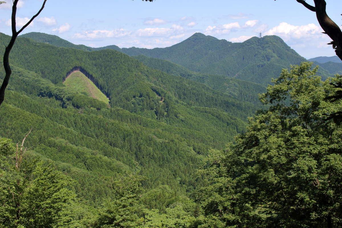 小高山からの北西側の眺望