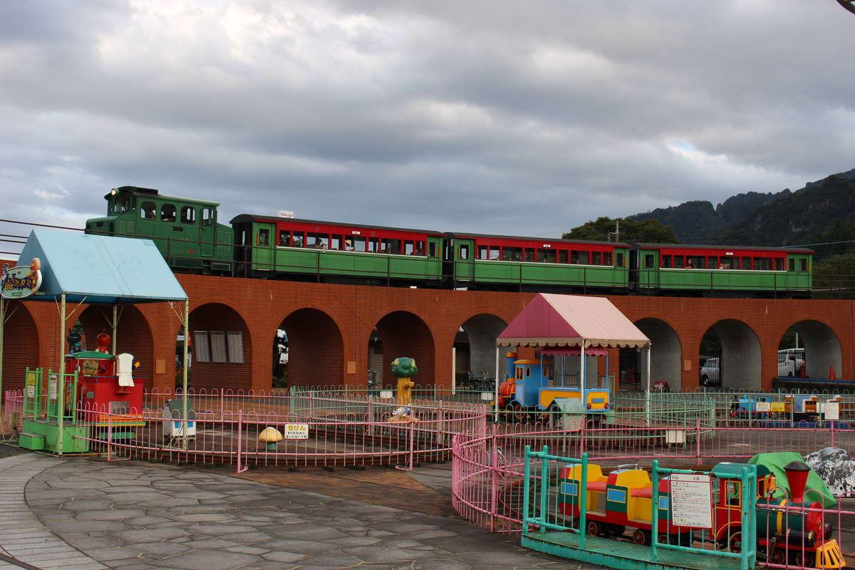 横川駅すぐそばにある「碓氷峠鉄道文化むら」