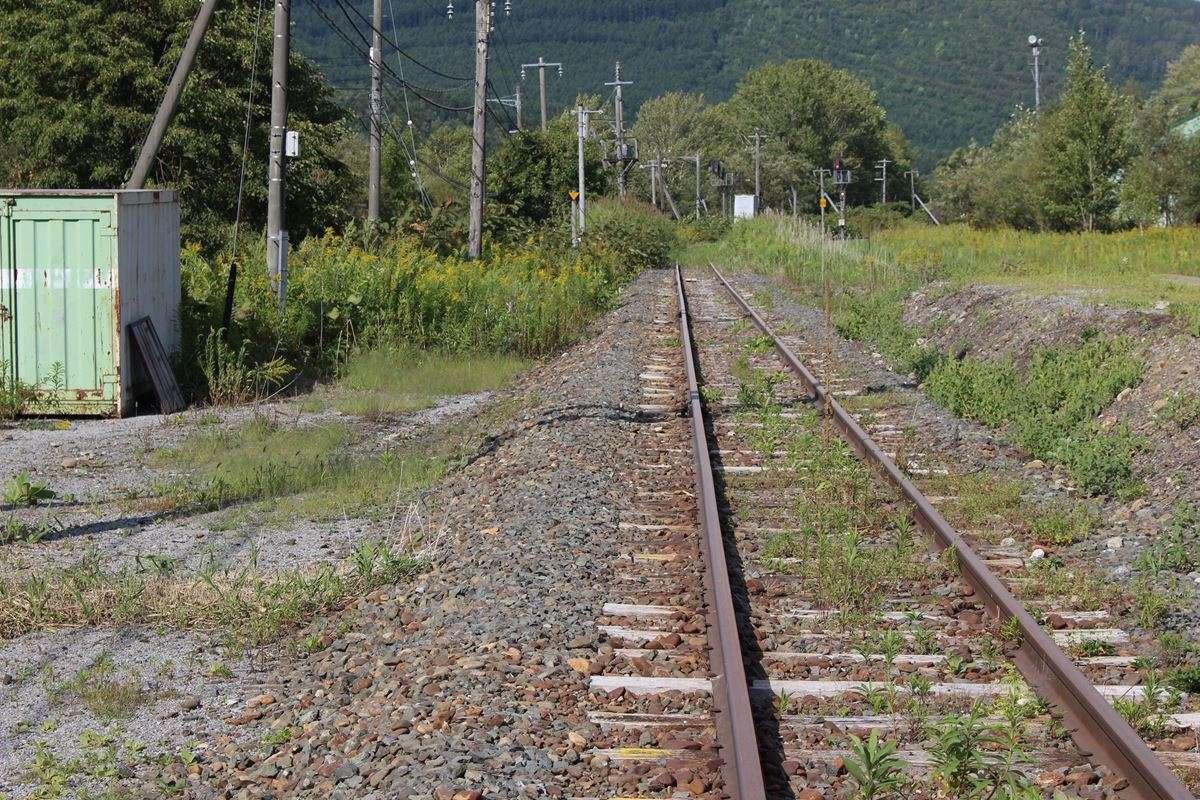 東鹿越~新得間は2016年の台風被害で不通