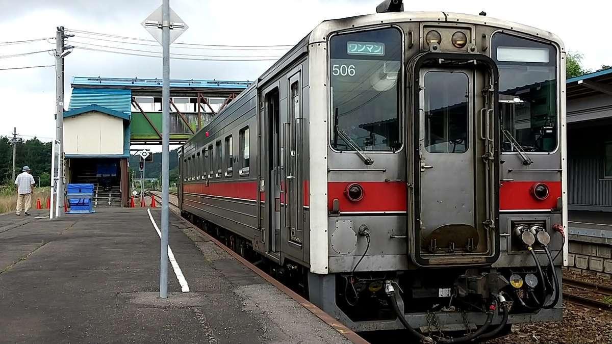 宗谷本線北部の普通列車で活躍するキハ54形