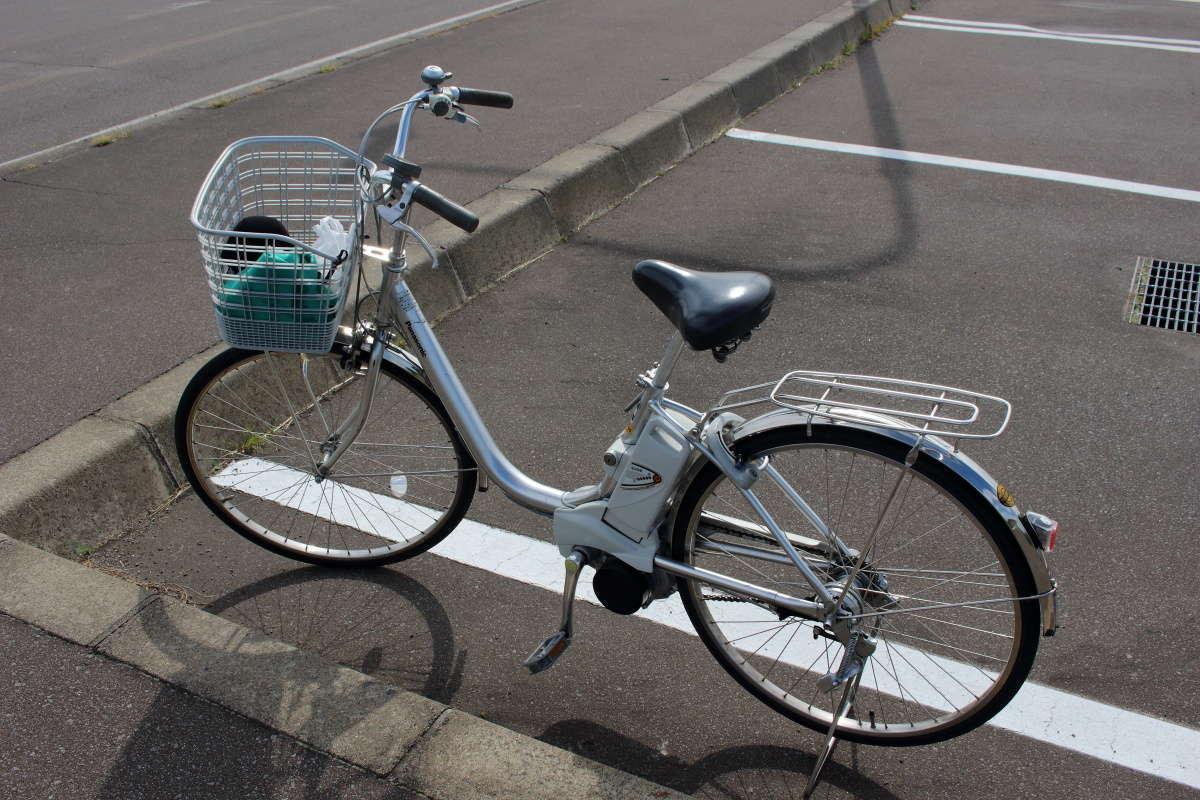 美瑛の旅の相棒、電動アシスト付き自転車をレンタル