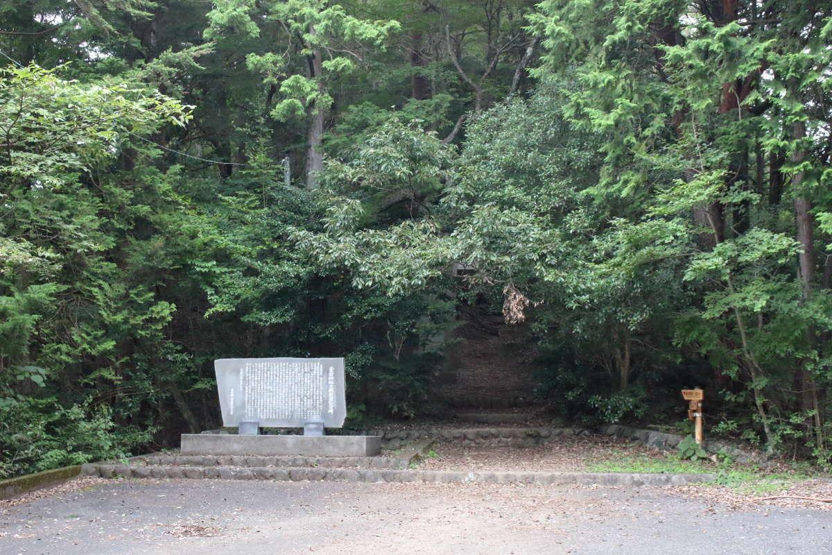 愛宕神社への広場に到着