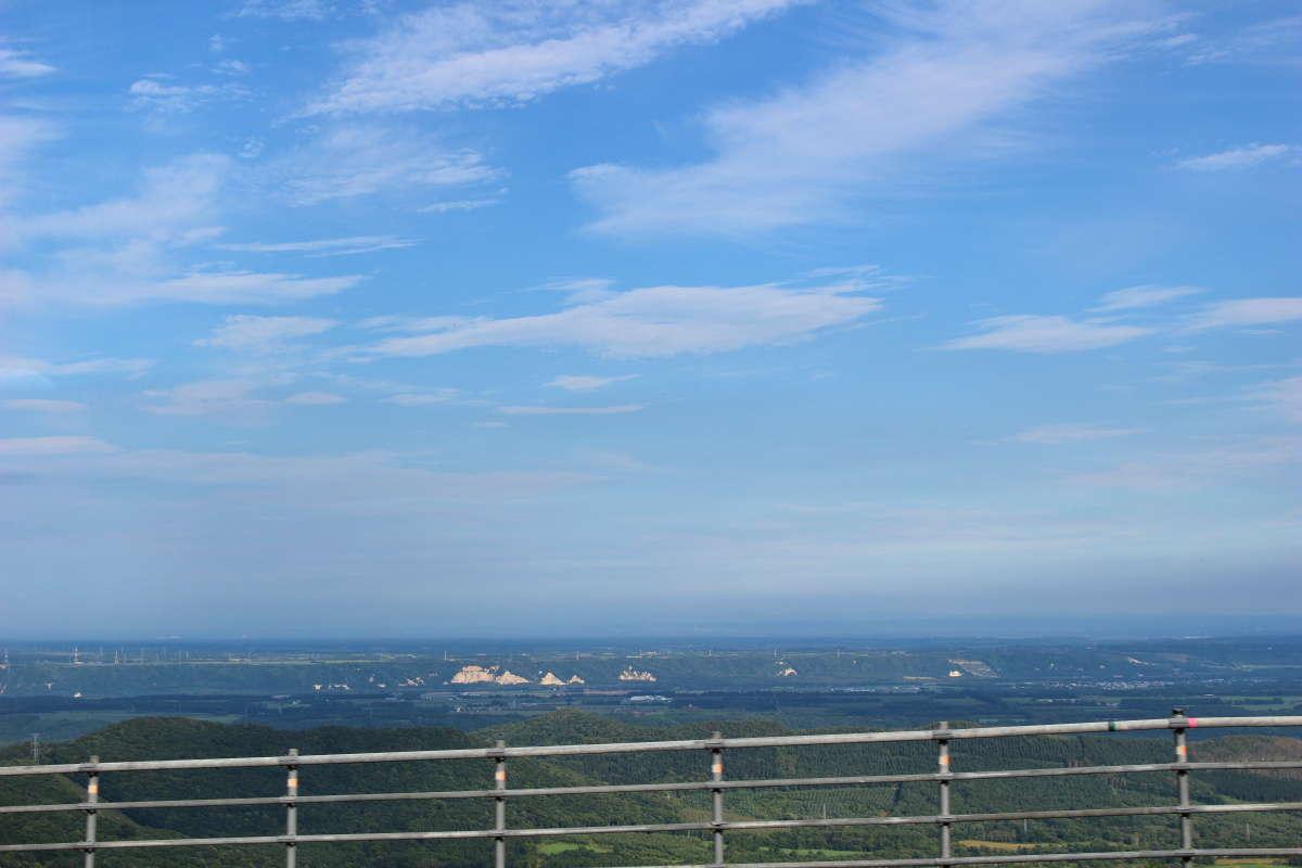 代行バスから一瞬だけ見える狩勝峠の絶景!