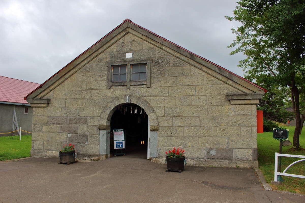 余市蒸溜所創立時に建設された「一号貯蔵庫」