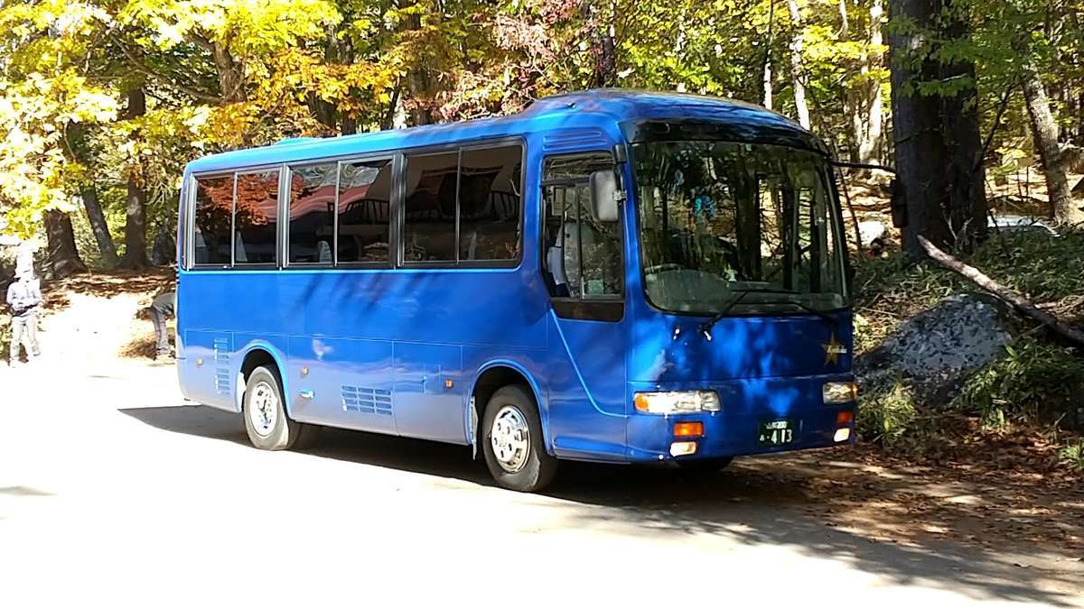JR韮崎駅から瑞牆山荘までは路線バスで!